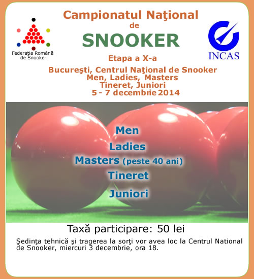Liga Nationala de Snooker 2014