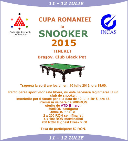 Liga Nationala de Snooker 2015
