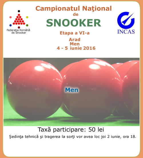Liga Nationala de Snooker 2016